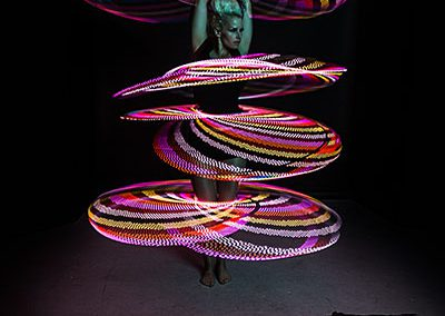 Australian Circus Artists LED Glow Hoops