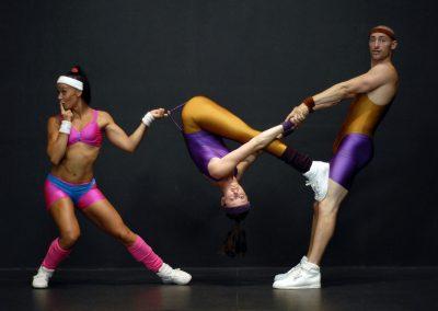 80s Comedy Acrobatics